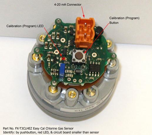 Easy Cal chlorine sensor simplifies detector calibration