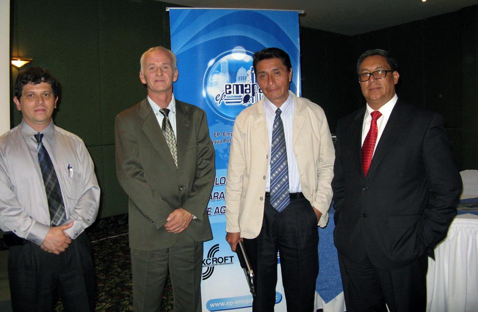Technical Director Victor Mendez EMAPAR Riobamba