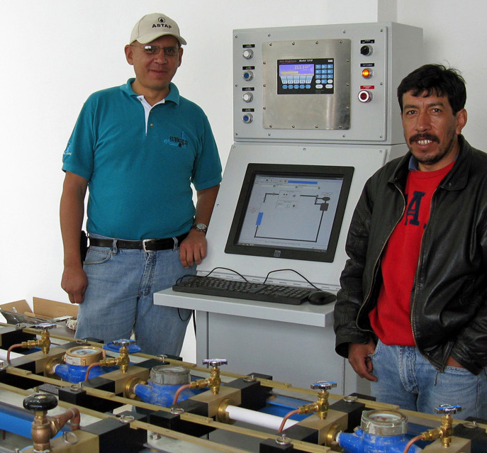 Mars test bench coontrol panel
