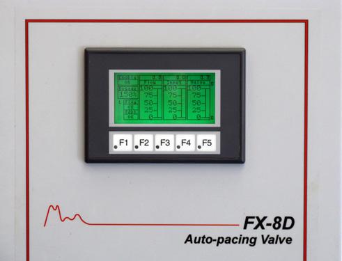 FX-8D gas flow control valve