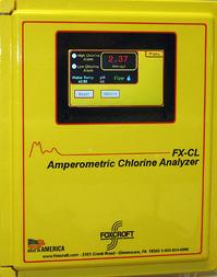 Foxcroft FX-CLT reagentless total chlorine analyzer
