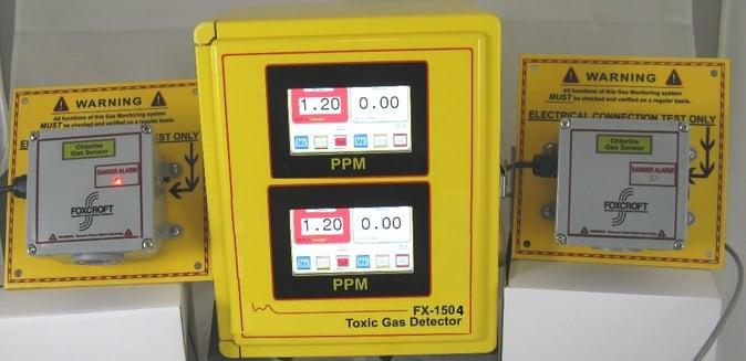 Foxcroft FX-1504V4CC 4-sensor chlorine gas leak detector.jpg