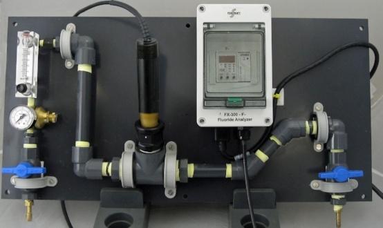Fluoride Analyzer Inline Reagentless Fx 300 F