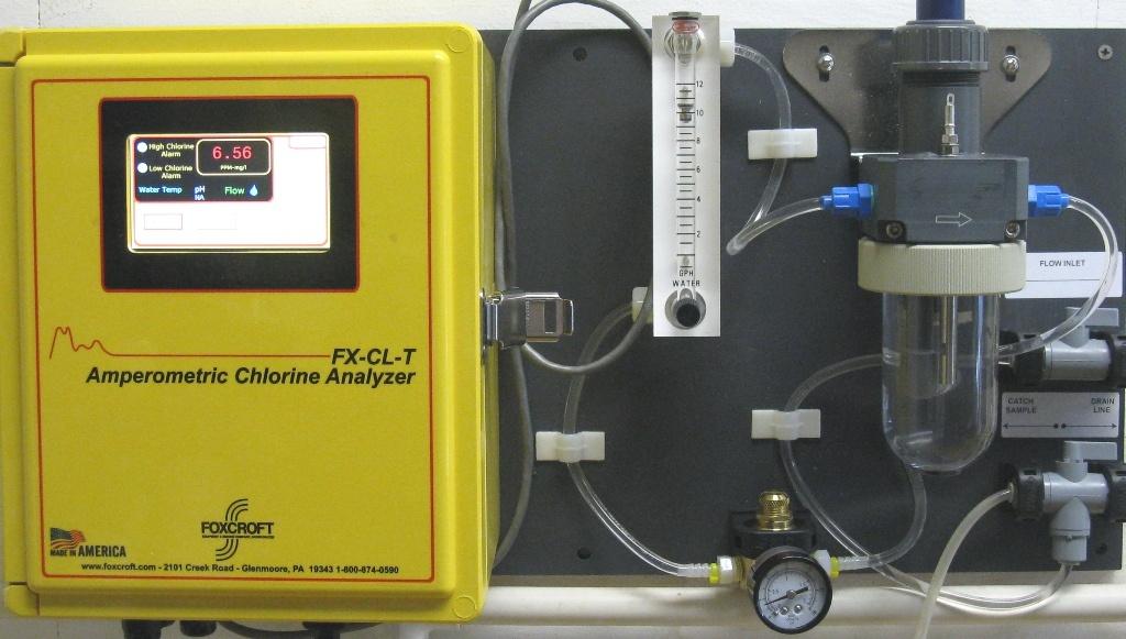 Total Chlorine Analyzer Reagentless Foxcroft Fx Clt